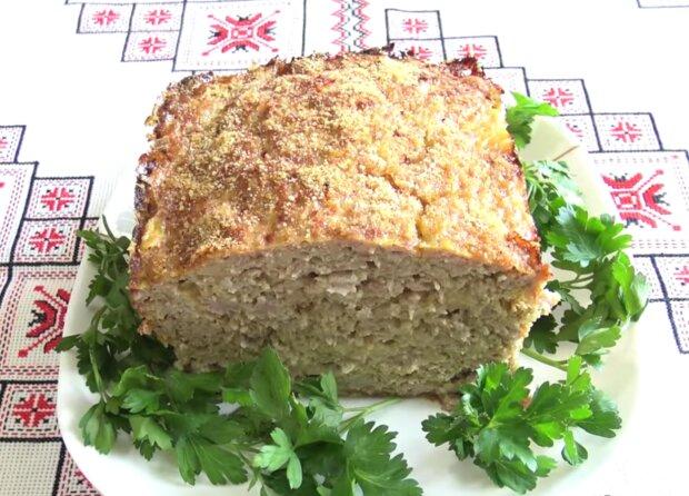 М'ясний хлібець, кадр з відео