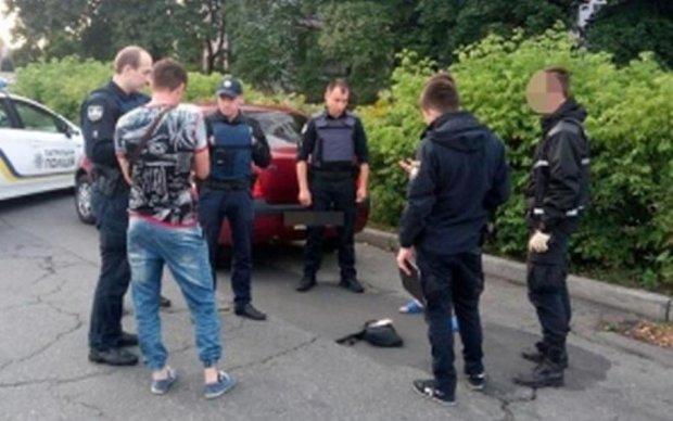 В Киеве снова стрельба: копы на удивление бдительны