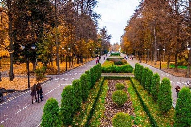парк ім Т.Шевченка, Івано-Франківськ, фото - Google