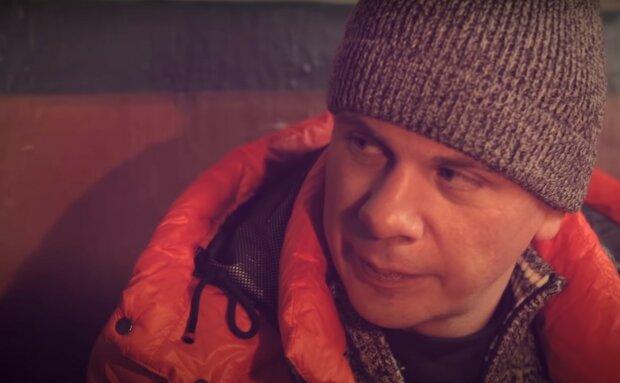 Дмитрий Комаров, скриншот из видео