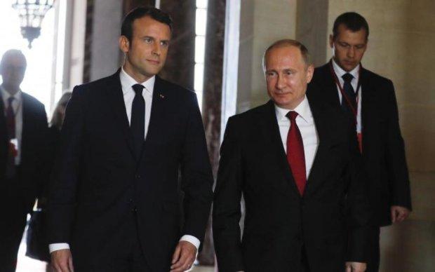 Макрон и Путин договорились о чеченских геях