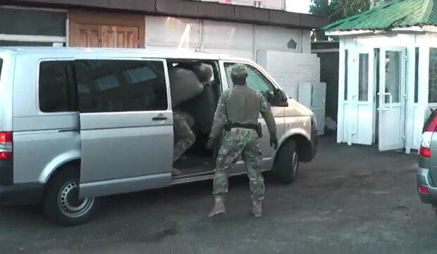 Затримання ФСБ, скріншот з відео