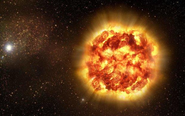 """Гігантська зірка залишила після смерті космічний """"подарунок"""" вченим"""