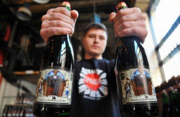 Львовяне придумали пиво с Обамой на этикетке