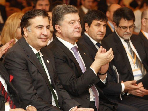 """Саакашвили признался, почему отказал Порошенко: """"На свадьбе у барыг"""""""