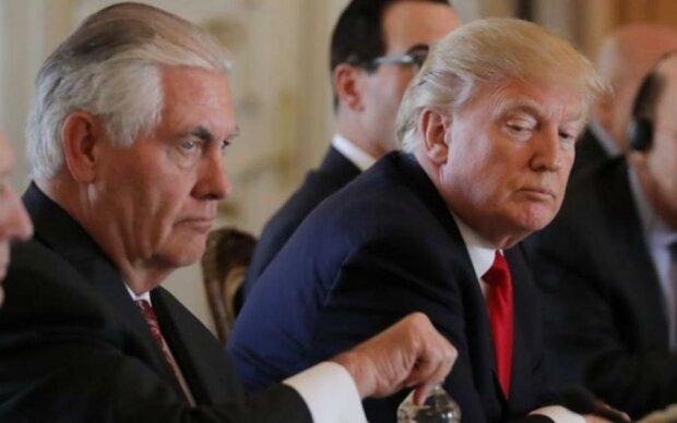 Трамп лаконічно пояснив відставку Тіллерсона