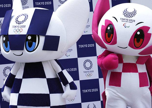Официальные символы Олимпиады-2020