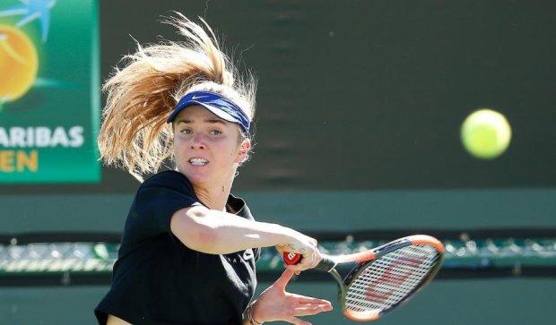 Украинка Свитолина успешно стартовала на теннисном турнире в США