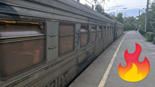 """""""У Чорнобиль їхати не потрібно"""": українець зняв найстрашніший вагон в електричці"""