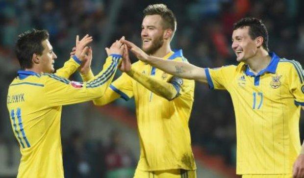 Збірна України піднялася в рейтингу ФІФА і обігнала Росію