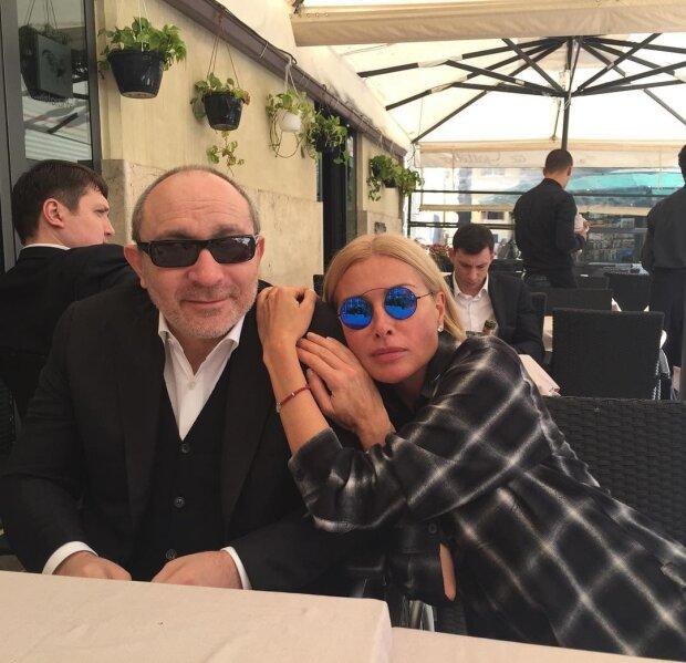 Кернес и Гайсинская, фото: instagram / oksanag2406