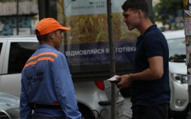 У Києві влаштували полювання на липових паркувальників: фото