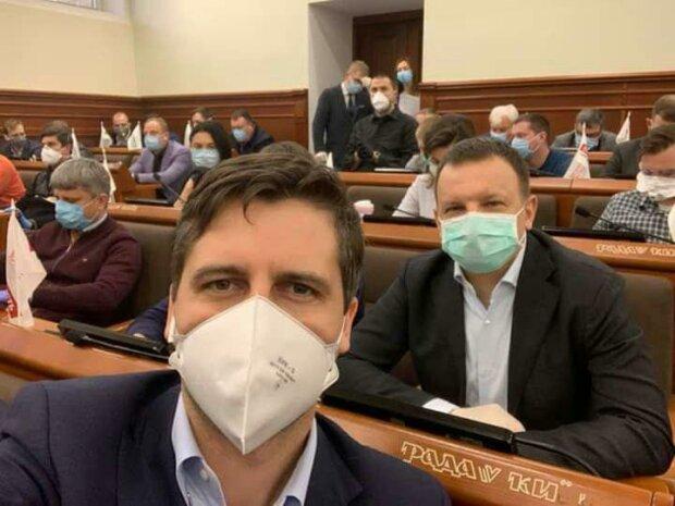 Депутаты Киевсовета - фото с Фейсбук