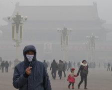смог в Китаї