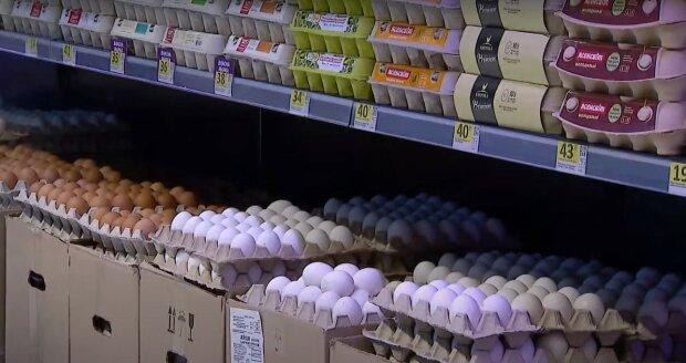 курячі яйця, скріншот з відео