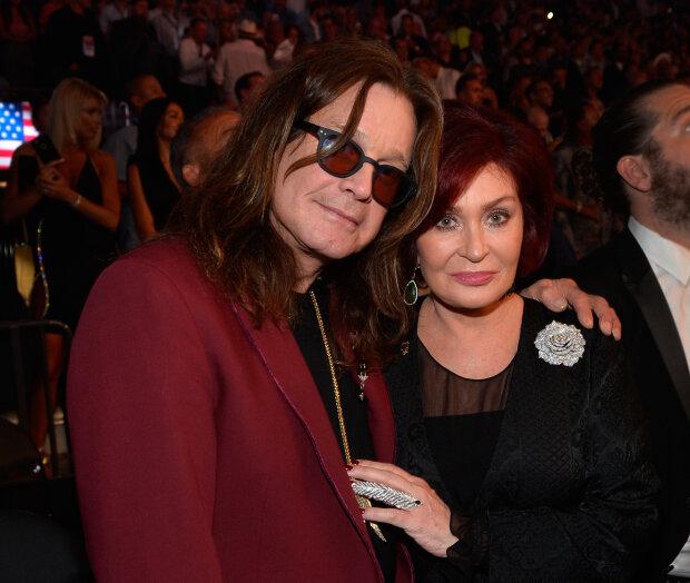 Оззі Осборна з дружиною Шерон, фото Getty Images