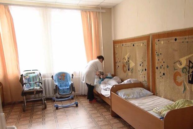 Дети-сироты, кадр из видео