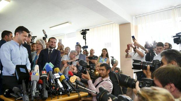 Володимир Зеленський на парламентських виборах