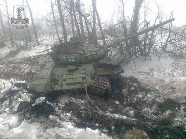 Бійцям АТО виплатили першу премію за знищені ворожі танки