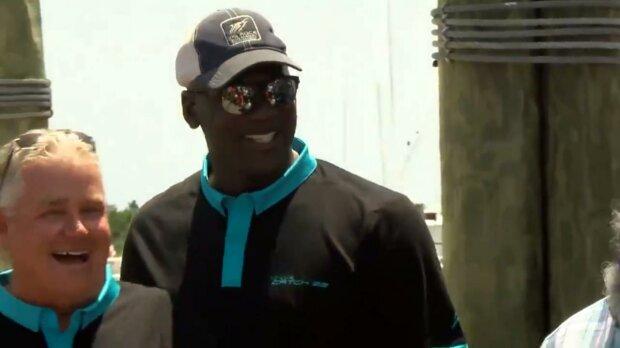 Майкл Джордан, скріншот з відео