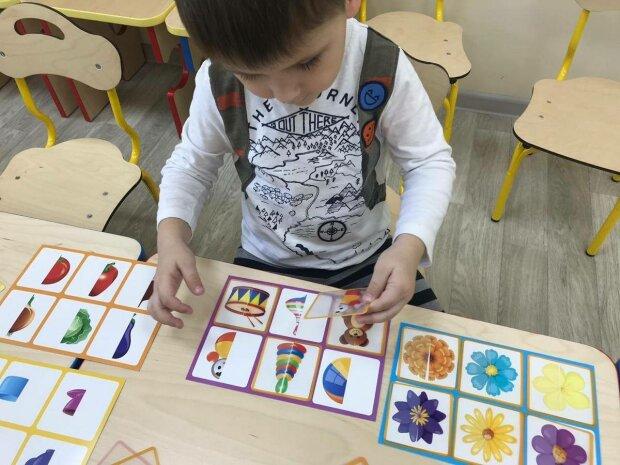 """Занятия для детей с особенностями развития в садике """"Дитина з майбутнім"""""""