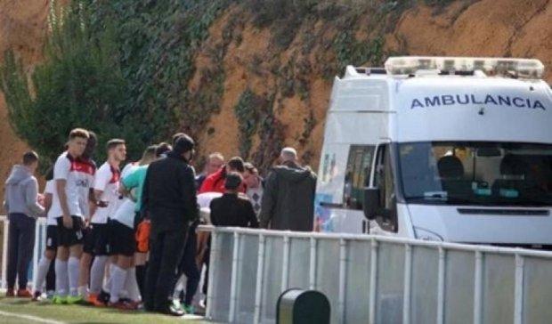 Испанский тренер спас жизнь футболисту соперника