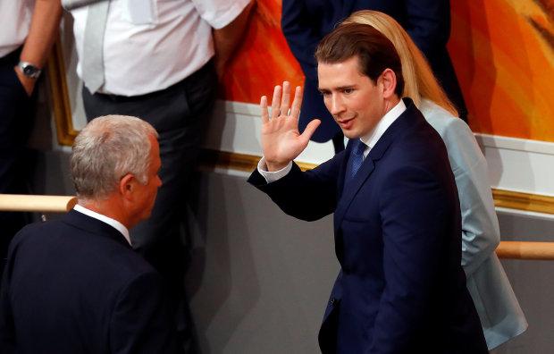 канцлер Австрії Себастьян Курц