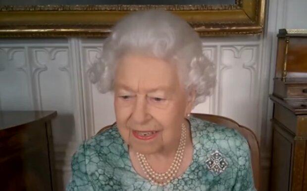 Елизавета II, кадр из видео