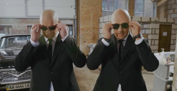 Потап и Евгений Кошевой, скриншот с видео