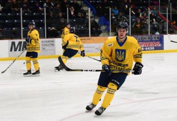Канадські хокеїсти вийшли на матч у формі з українською символікою: відео