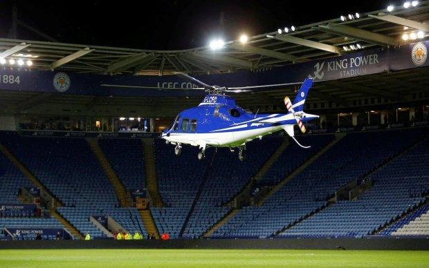 Вертолет с владельцем легендарного футбольного клуба рухнул на глазах у всех, первые кадры жуткой трагедии