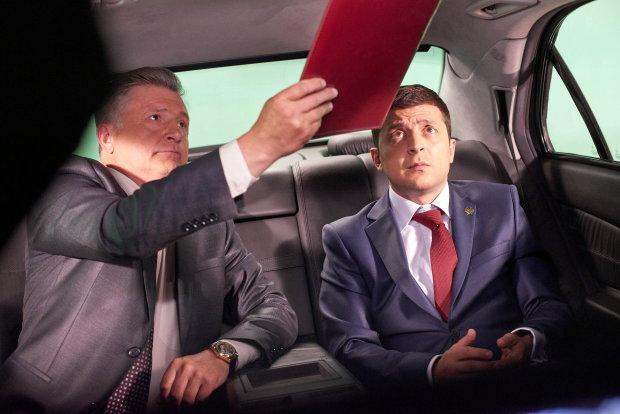 Зеленський йде у президенти