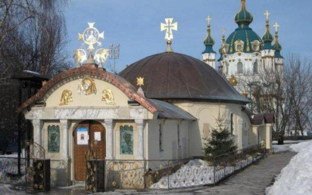"""У Кличко решили, что делать с """"часовней"""" московских попов в центре Киева"""