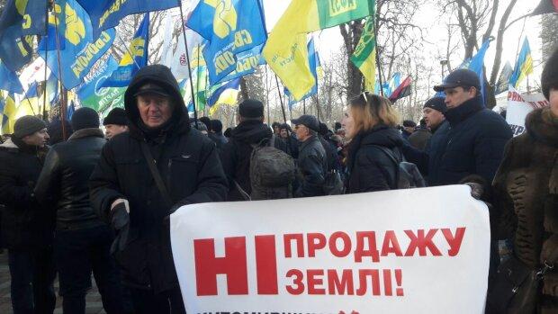 Мітинг під Верховною Радою, фото: znaj.ua