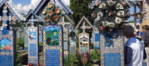 Веселе кладовище, фото: скріншот з відео