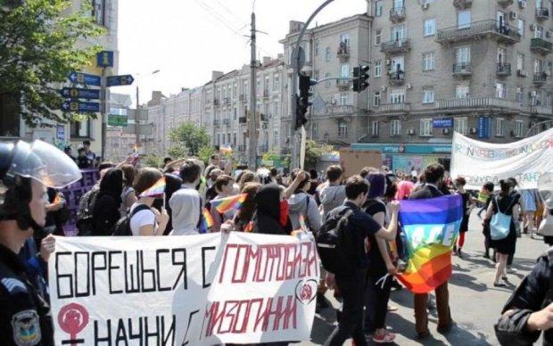 Марш рівності в Києві: з'явилося відео масштабних сутичок з поліцією