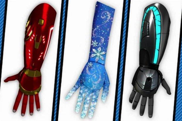 Компанія Open Bionics випустить для дітей протези за мотивами мультиків