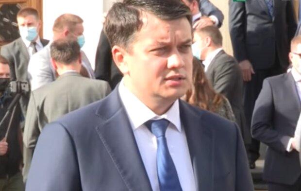 Дмитрий Разумков, фото: кадр из видео