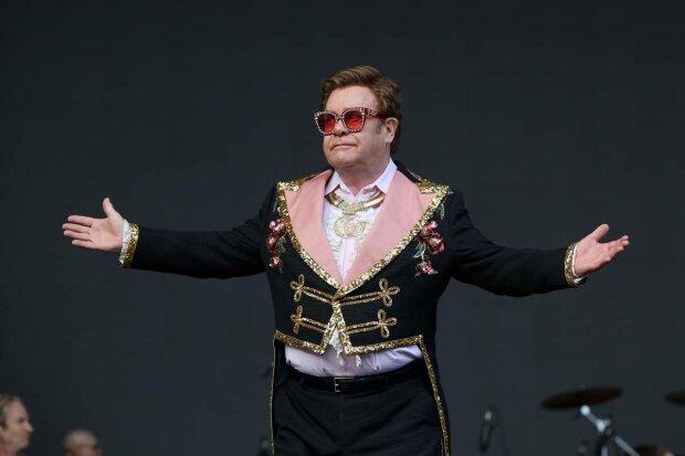 Элтон Джон на концерте в Окленде, Новая Зеландия