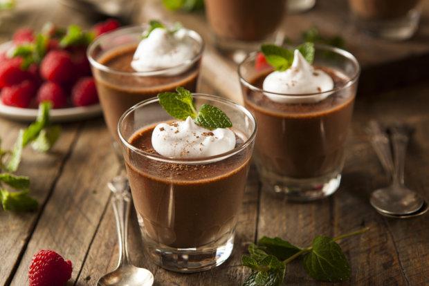 Имбирно-шоколадный мусс: райский десерт, который просто тает во рту