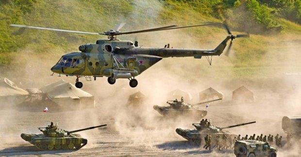Военные учения в оккупированном Крыму
