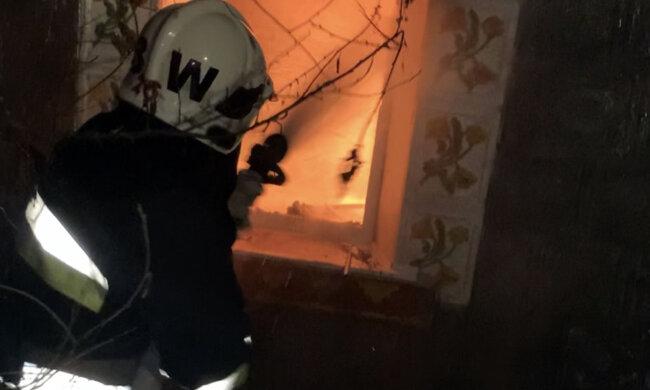 Пожежа в Хмельницькій області, фото: ДСНС Хмельницької області