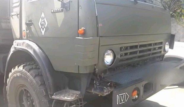 Подробиці затримання російського Камазу з боєприпасами - відео допиту