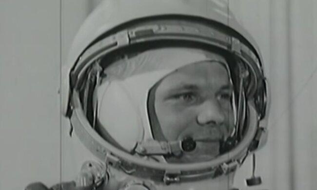 Юрій Гагарін, скріншот: YouTube