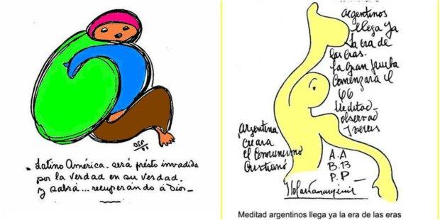 Творчість Бенджаміна Соларі Парравічіні: малюнки, у яких ховаються пророцтва