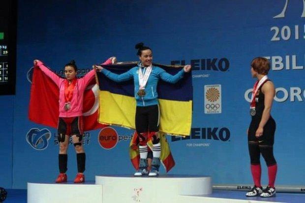 Українські важкоатлетки  стали кращими у Європі