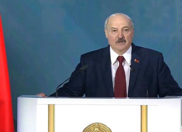 Лукашенко, скриншот с youtube