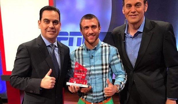 Ломаченко получил специальную награду за лучший нокаут года