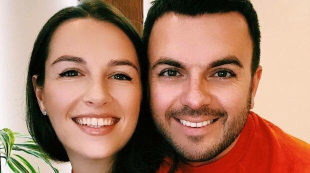 Григорий Решетник с женой, фото: Instagram