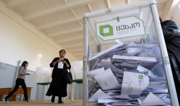 Выборы в Грузии: подсчитаны 99% голосов